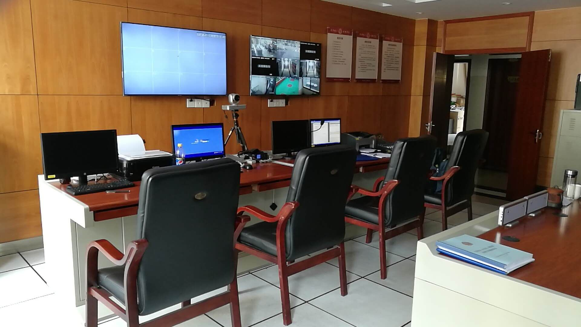 石马河中队监控系统安装